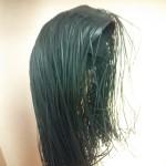 紙で出来た髪