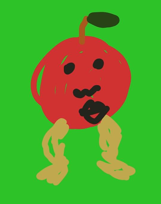 ちびがっつ チビガッツ CHIBIGUTS にんげんくだもの りんご